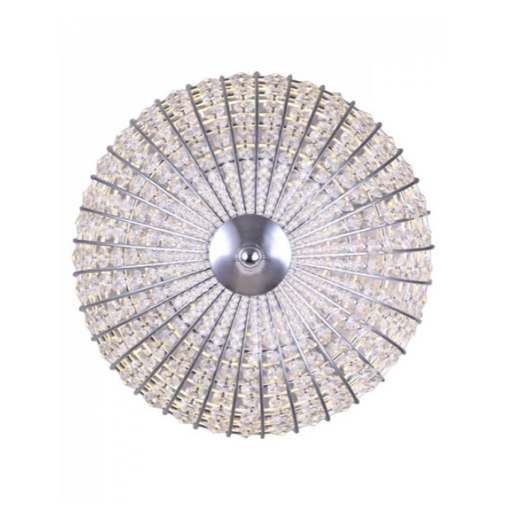 "Canarm Tilly 15"" Crystal LED Pendant Chrome LPL145A15CH"