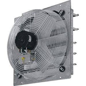 "TPI CE24-DS 24"" Shutter Mounted Direct Exhaust Fan With Pull Chain Switch"
