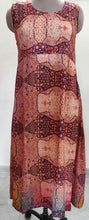 Load image into Gallery viewer, Designer Raw Cotton Silk Digital Printed Long Maxi Dress Free Size ACG05