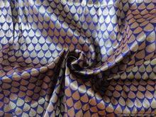 Load image into Gallery viewer, Heavy Purple Brocade Fabric FAB134