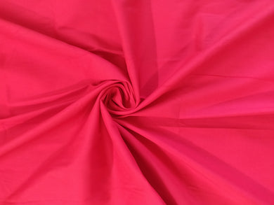 Red Lycra Cotton Solid Red Fabric Pre cut 1 Meter FAB78