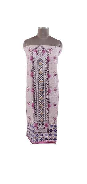 Designer Digital Printed Faux Pashmina Kurti Fabric Unstitched RK01 - Ethnic's By Anvi Creations