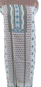 Designer Digital Printed Faux Pashmina Kurti Fabric Unstitched RK04 - Ethnic's By Anvi Creations