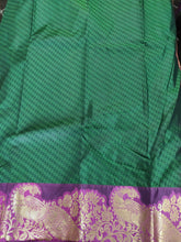 Load image into Gallery viewer, Bottle Green Kanchi Blend Kanjivaram Silk Saree Kanchi10 - Ethnic's By Anvi Creations