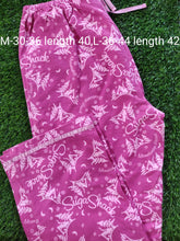Load image into Gallery viewer, Pink Winter Wear Flannel Lounge Pant Pajama PJ01