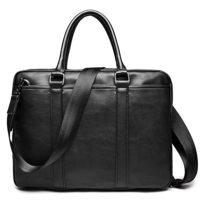 The Agent Leather Laptop Briefcase - Laptop Bags Australia