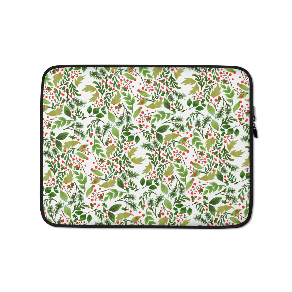 Holly Garden Laptop Sleeve
