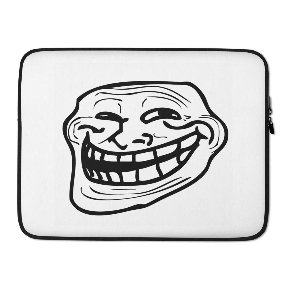 Smiling Man Meme Laptop Sleeve