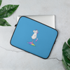 Unicorn Rainbow Fart Laptop Sleeve - Laptop Bags Australia