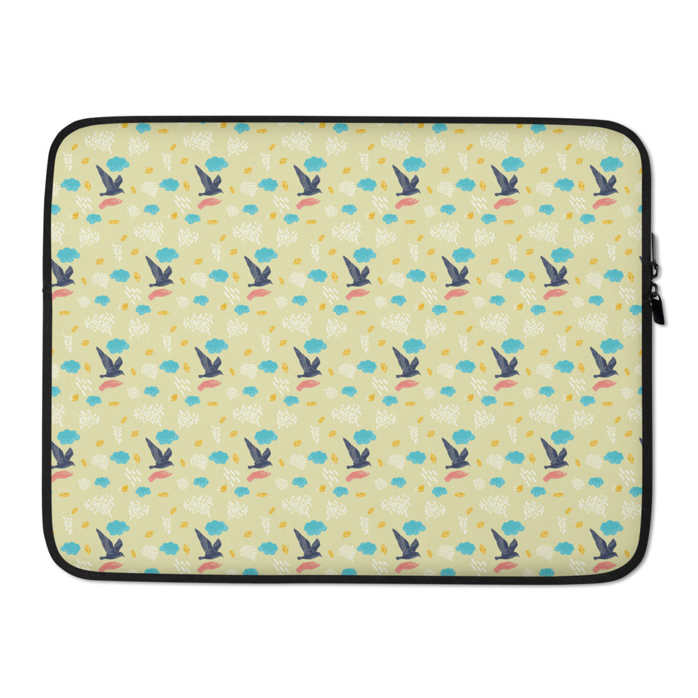 Birds Spring Laptop Sleeve - Laptop Bags Australia