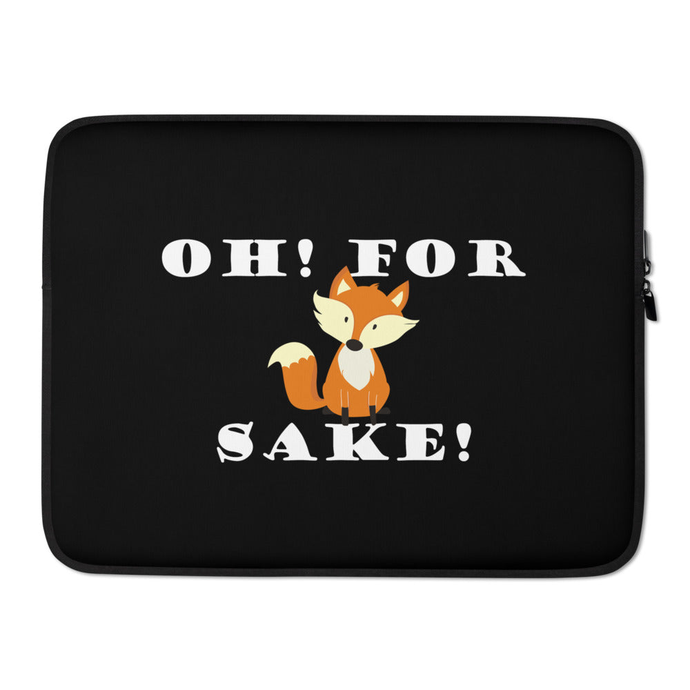 Fox Joke Laptop Sleeve - Laptop Bags Australia