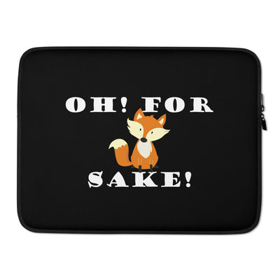 Fox Joke Laptop Sleeve