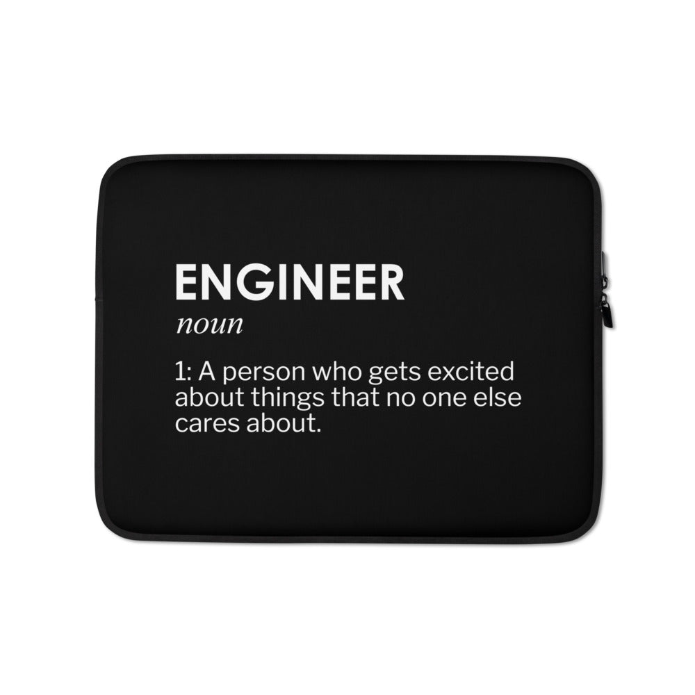 Engineer Joke Laptop Sleeve