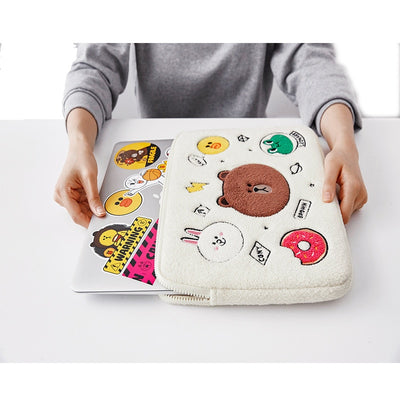 Plush Animals Laptop Case - Laptop Bags Australia