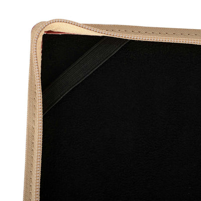Book Cover Leather Laptop Sleeve for MacBook - Laptop Bags Australia