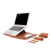 Leather Sleeve Set With Support Frame for MacBook 13-inch - Laptop Bags Australia