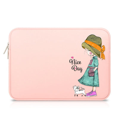 Nice Day Leather Laptop Sleeve - Laptop Bags Australia