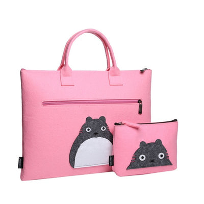 Cat Spirit Wool Laptop Sleeve Set - Laptop Bags Australia