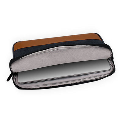 The Leather Band Laptop Case - Laptop Bags Australia