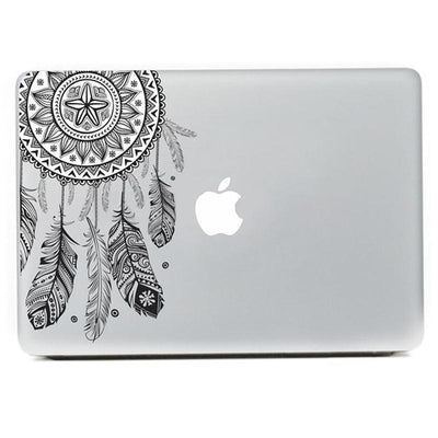 Native American Feather Laptop Sticker - Laptop Bags Australia