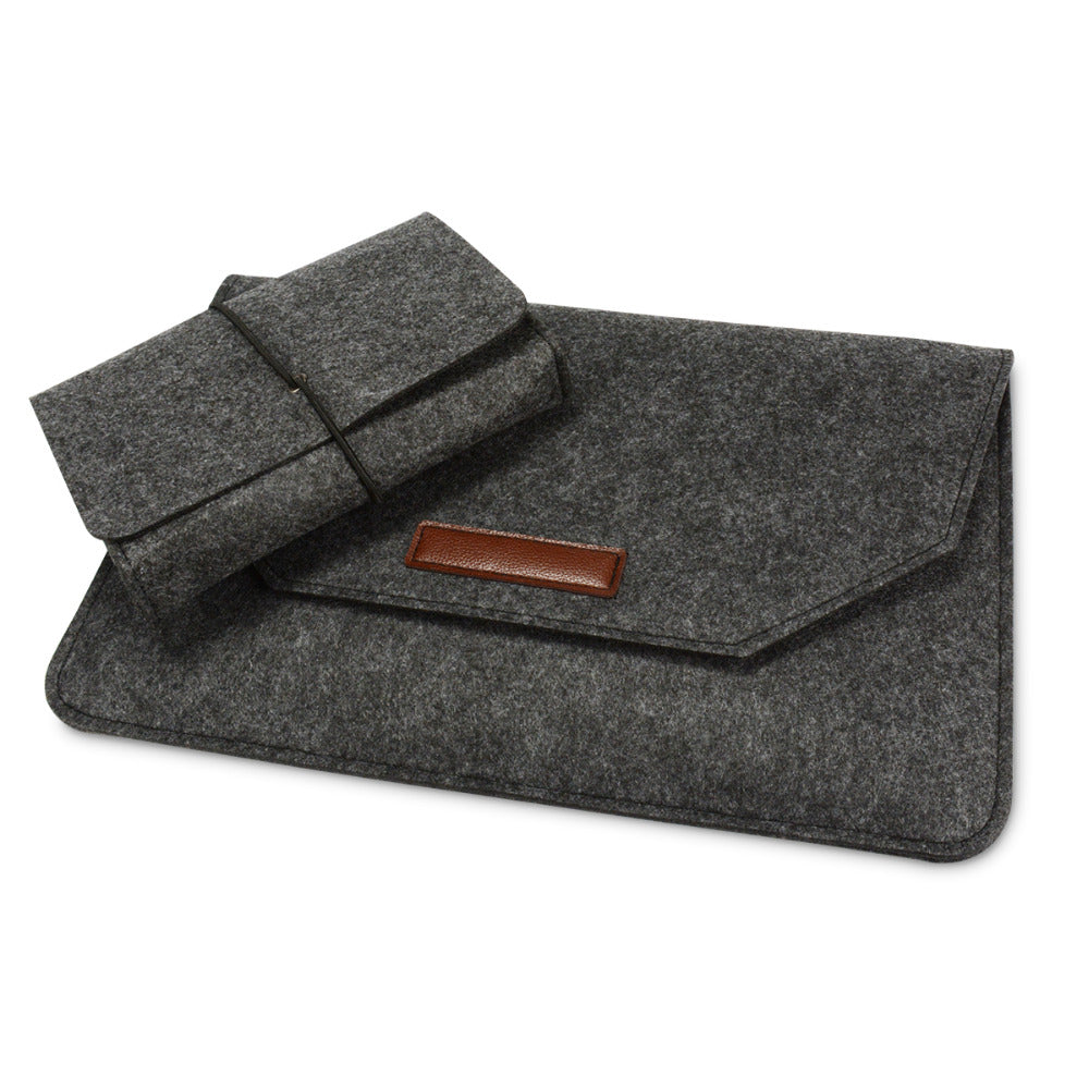 Merino Wool Laptop Sleeve 14-inch Set - Laptop Bags Australia