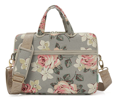 The Rose Laptop Briefcase for Women 15-inch - Laptop Bags Australia