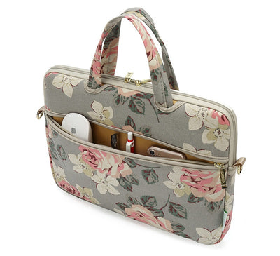 The Rose Laptop Briefcase for Women 13-inch - Laptop Bags Australia