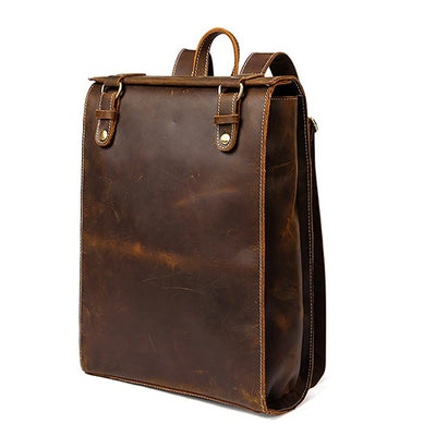 The Leather Case Laptop Backpack - Laptop Bags Australia