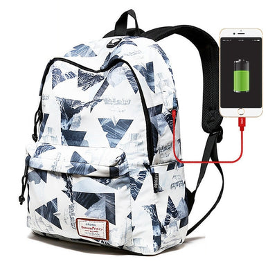 USB Charging Laptop Backpack for Women - Laptop Bags Australia