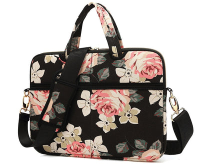 The Rose Laptop Briefcase for Women 14-inch - Laptop Bags Australia