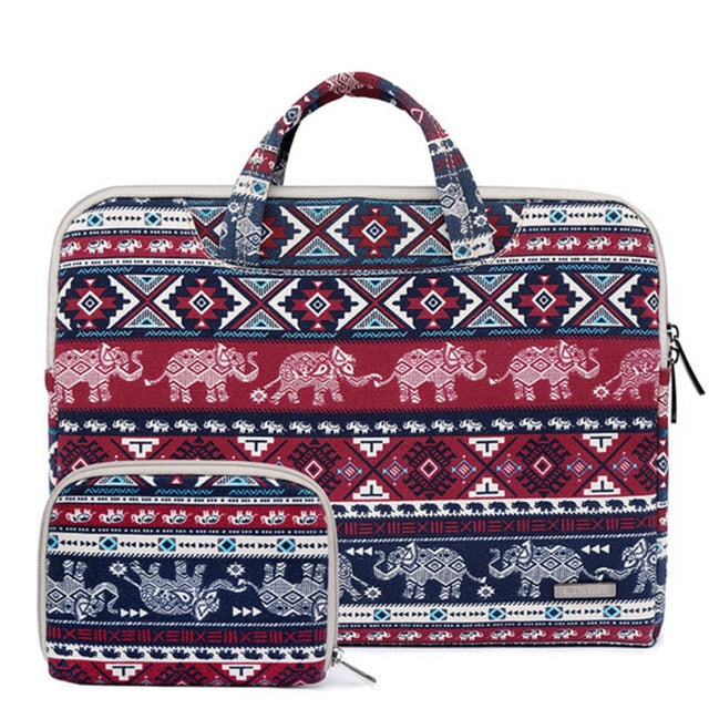 Delhi Elephant Laptop Sleeve - Laptop Bags Australia