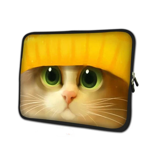 Cute Cat Laptop Sleeve - Laptop Bags Australia