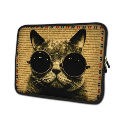 Fashion Cat Laptop Case - Laptop Bags Australia