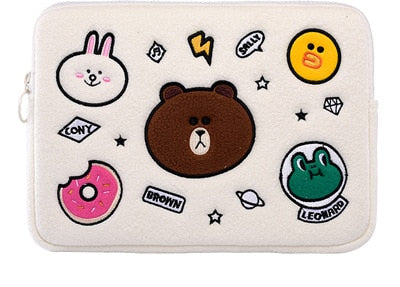 Plush Animals Laptop Sleeve - Laptop Bags Australia