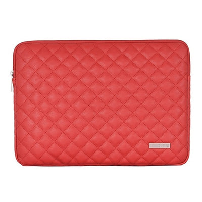 Leather Plaid Laptop Sleeve 15-inch - Laptop Bags Australia