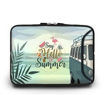 Hello Summer Laptop Sleeve - Laptop Bags Australia