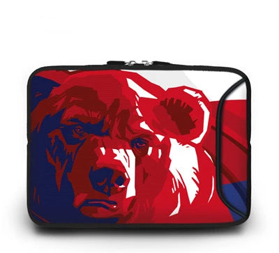 Patriotic Bear Laptop Sleeve - Laptop Bags Australia