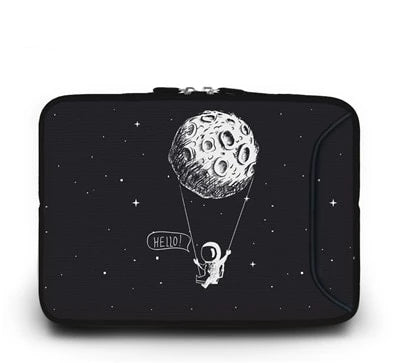 Hello From The Moon Laptop Case - Laptop Bags Australia