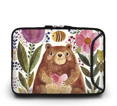 Happy Bear Laptop Sleeve - Laptop Bags Australia