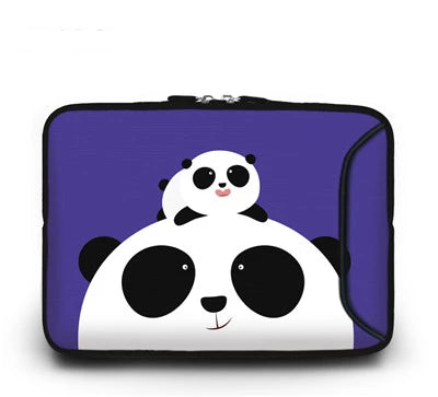 Panda Family Laptop Sleeve - Laptop Bags Australia