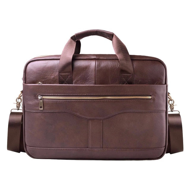 The Explorer Leather Laptop Briefcase - Laptop Bags Australia