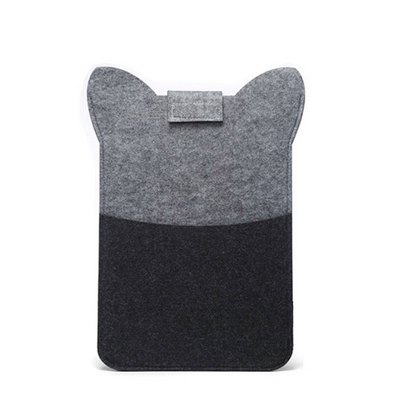 Peaceful Raccoon Wool Laptop Sleeve - Laptop Bags Australia