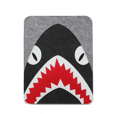 Hungry Shark Wool Laptop Sleeve - Laptop Bags Australia