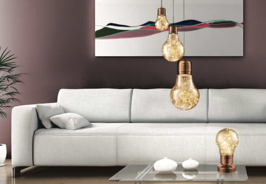 Feature Pendant Lightbulb - Large