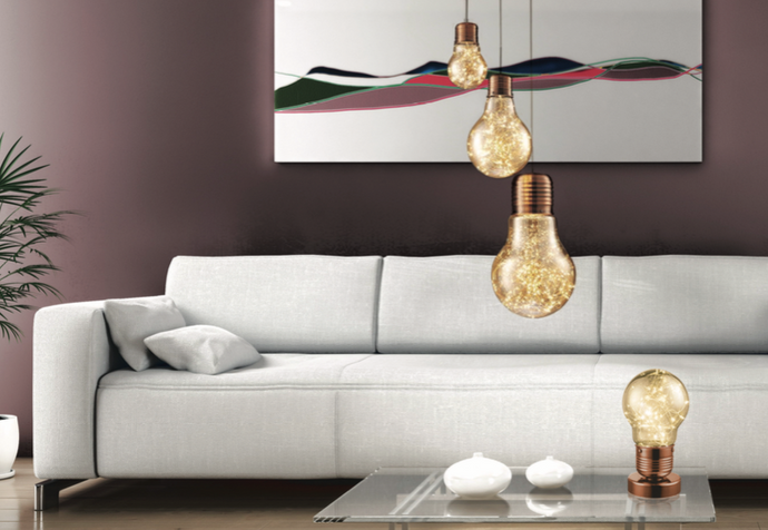 Feature Pendant Lightbulb - Medium