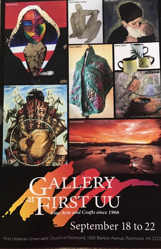 """54th Annual Gallery at First UU Fine Arts and Crafts Show & Sale"""
