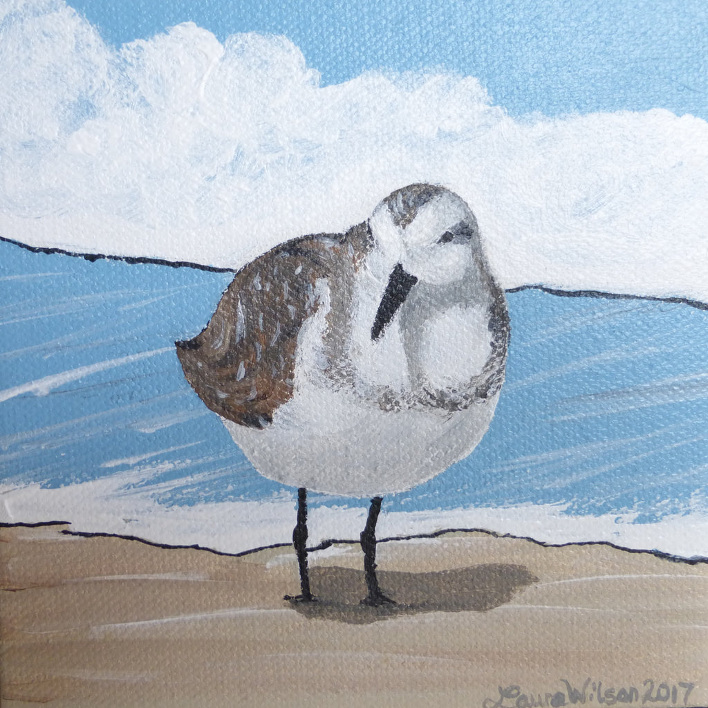"""Sand Darlings"" (Sanderling #10)"