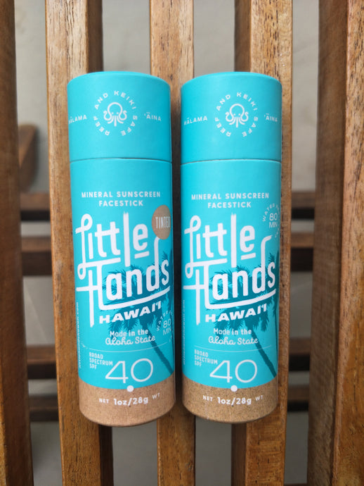 Little Hands Hawaii - Mineral Sunscreen Facestick