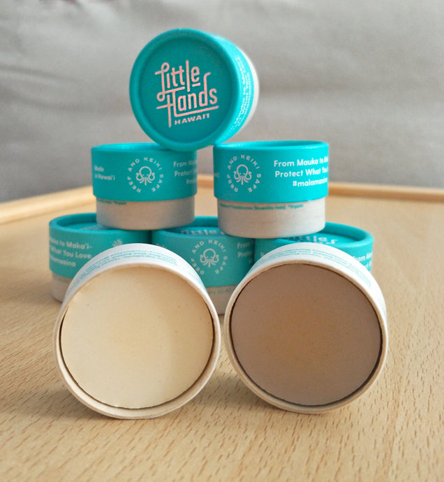Little Hands Hawaii - Mini Sunscreen pots