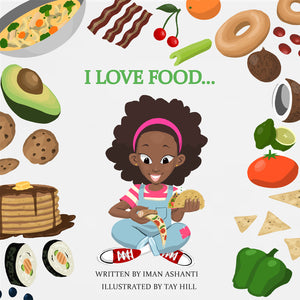 """I Love Food"" Autographed Hardback Book"